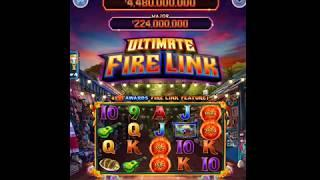 """ULTIMATE FIRE LINK Video Slot Casino Game with an """"EPIC WIN"""" FIRE LINK BONUS"""