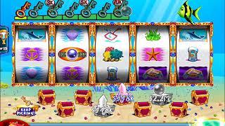 GOLD FISH 2 Video Slot Casino Game with a GREEN FISH BONUS