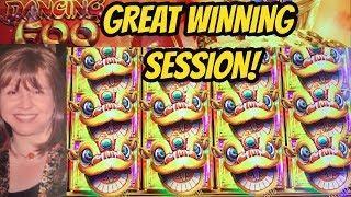 BIG WIN SESSION- DANCING FOO SLOT MACHINE