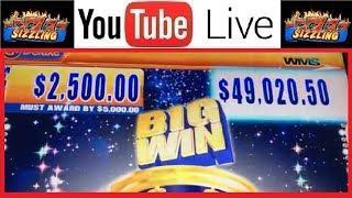 What Does a $50,000 Major Progressive JACKPOT HAND PAY Look • Like? Slot Machine HIGH LIMIT Bonus