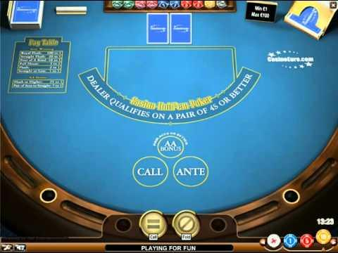 Casino Hold'em - The Virtual Games