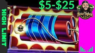 High Limit Eureka Blast Slot Machine Jackpot Mixed Sessions