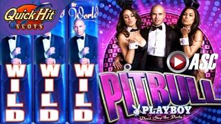 PLAYBOY DON'T STOP THE PARTY (FEAT. PITBULL) | • QUICK HIT SLOTS • GAME APP REVIEW! PLAY FOR FUN!