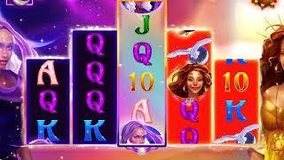 DUELING DEITIES Video Slot Casino Game with a SUN VS MOON FREE SPIN BONUS
