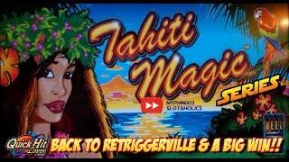 Tahiti Magic Slot Big Bonus Winner!