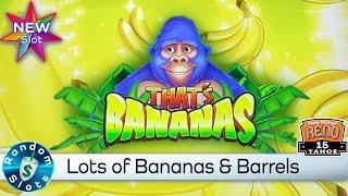 ⋆ Slots ⋆️ New - That's Bananas Slot Machine Bonus and Feature