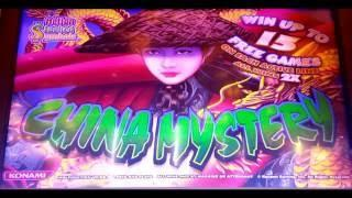 CHINA MYSTERY Slot 5-Cent - BONUS & RETRIGGER!  NICE WIN! at Pechanga Resort and Casino