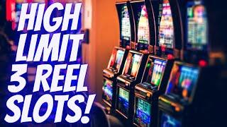 High Limit 3 Reel Slot Machines - $30 Max Bets | Live Slot Play At Casino | SE5 | Ep-13