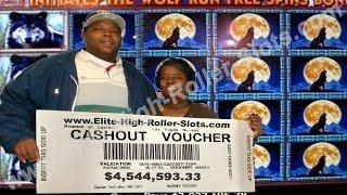 •4 MILLION DOLLAR SLOT WIN! Jackpot Handpay High Limit Vegas Casino Aristocrat, IGT   SiX Slot • SiX