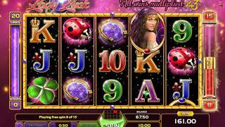 Lady Luck slots - 278 win!