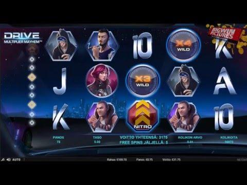 Drive Multiplier Mayhem Slot - BIG WIN!