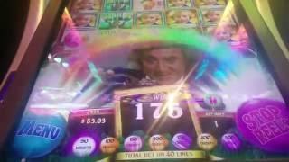 Willy Wonka Pure Imagination Oompa Loompa Slot Machine Bonus (3 clips)