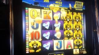 50 Lions (Aristocrat) - Max Bet Bonus Big Win!