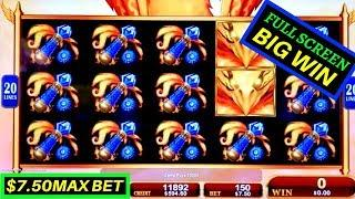 Wings Of The Phoenix Slot Machine Bonus - FULL SCREEN | W4 Tall Fortunes Wild Lepre'Coins Slot