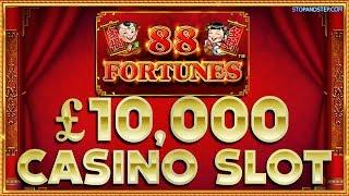 88 Fortunes £10K Jackpot Casino Slot in London !