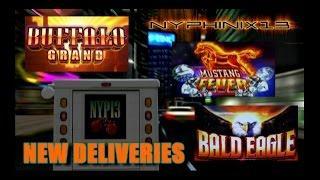 •NEW DELIVERIES• Mustang Fever • Buffalo Grand • Bald Eagle Slot Bonuses NICE WIN