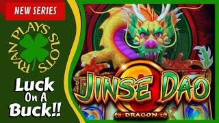 Jinse Dao Dragon | Luck On A Buck Series | Ryan Plays Slots