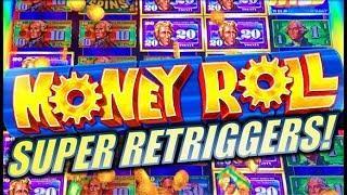 •SUPER RETRIGGERS! • MEGA CASH REELS!• MONEY ROLL | INCREDIBLE TECHNOLOGIES (IT) Slot Machine Bonus
