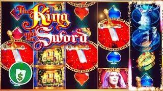 The King and the Sword slot machine, bonus