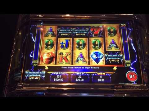 Thunder Cash LIVE PLAY w bonus and HUGE surprise at end