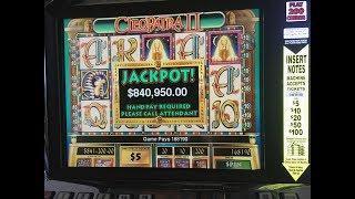 Biggest Cleopatra 2 Jackpot on Youtube • Slots N-Stuff