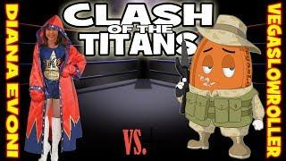 Diana Evoni vs VegasLowRoller   •   Clash of the Titans