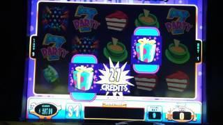 Jackpot Block Party Slot Machine Bonus - Present Pick