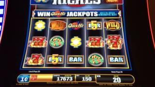 SG/Bally - QUICK HIT RICHES - Jackpot highlights and live play