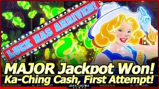 Ka-Ching Cash Vegas Neon Slot - Major Jackpot Won in First Attempt!  Luck Has Arrived Early in 2021!