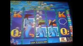 Magic mermaid slot machine AWESOME WIN