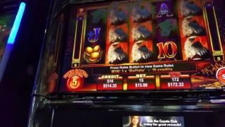 Eagle Bucks*Jackpot HandPay*$15 Max Bet*