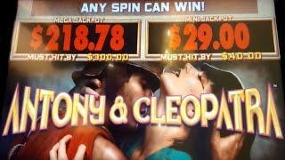 Antony & Cleopatra Slot - LIVE PLAY Bonus!