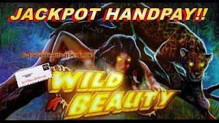 •JACKPOT HANDPAY• AGS Gaming | Wild Beauty Slot Live Play & Bonuses •NEW DELIVERY•