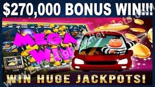•$270,000 Thousand Dollar Bonus Win! Cops And Donuts High Limit Slot Jackpot, Handpay! | SiX Slot •