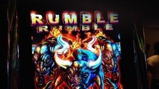 Rumble Rumble Slot Bonus BIG WIN- Ainsworth