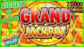 GRAND JACKPOT Lock It Link Huff N' Puff MASSIVE HANDPAY ★ Slots ★BIGGEST JACKPOT ON YOUTUBE FOR HUFF