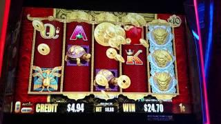 Aristocrat Good Fortune 5 Dragons Deluxe Free spins