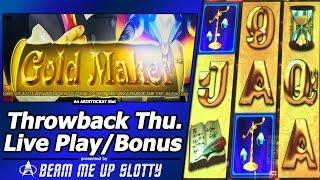 Gold Maker Slot - TBT Live Play and Free Spins Bonuses