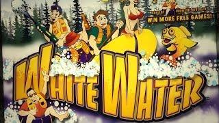 White Water Slot Machine Bonus-Dollar Denomination