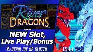 River Dragons Slot - New Slot, Live Play and Free Spins Bonuses