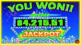 BIGGEST MINI JACKPOT EVER ON YOUTUBE   RED FORTUNE HIGH LIMIT SLOT MACHINE  