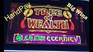 TREE OF WEALTH • HANDPAY • MAJOR •BIG WINS