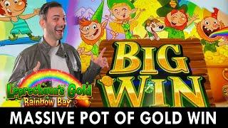 ★ Slots ★ MASSIVE POT OF GOLD WIN ★ Slots ★ Wild Rainbow Bay Bonus = BIG WIN ★ Slots ★ Agua Caliente