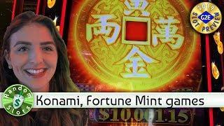 Fortune Mint, Fu Xing Gao Zhao slot machine preview, Konami, #G2E2019
