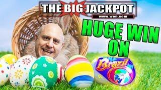 •HAPPY EASTER!!! RAJA WIN$ BIG ON BRAZIL! •w/ Cartoon by It's a Slot Machine