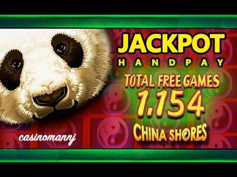 *JACKPOT HANDPAY* - CHINA SHORES SLOT - 1,154 FREE SPINS! - MEGA HUGE WIN! - Slot Machine Bonus