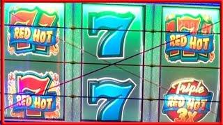 ** BIG WIN ** RED HOT 7s n others ** SLOT LOVER **