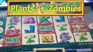 Plants Vs. Zombies Slot Machine Bonus!  ~ Spielo (Plants Vs Zombies)