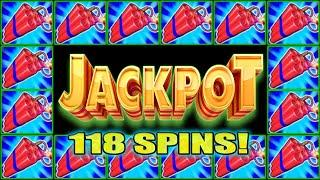 LET'S GO BABY!!! WOW 118 SPINS JACKPOT HANDPAY HIGH LIMIT SLOTS