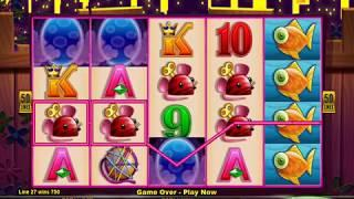 CASHMAN RETURNS MISS KITTY GOLD Video Slot Casino Game with a FREE SPIN BONUS
